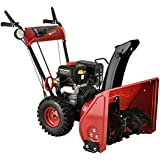 """Amico Power 24"""" 212cc 2 Stage Electric Start Gas Snow Blower/Snow Thrower"""