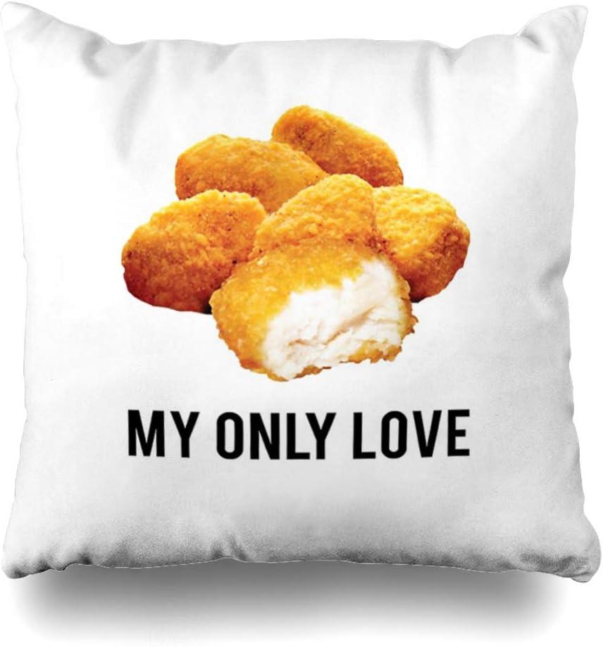 Ahawoso Throw Pillow Cover Square 20x20