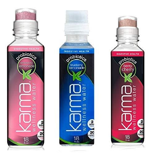 Wellness Beverage - Karma Probiotics Water Trio (18 fl oz) - 3 Bottles