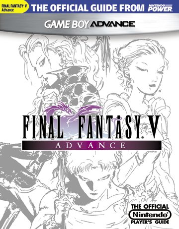 Official Nintendo Power FINAL FANTASY V ADVANCE Player's Guide