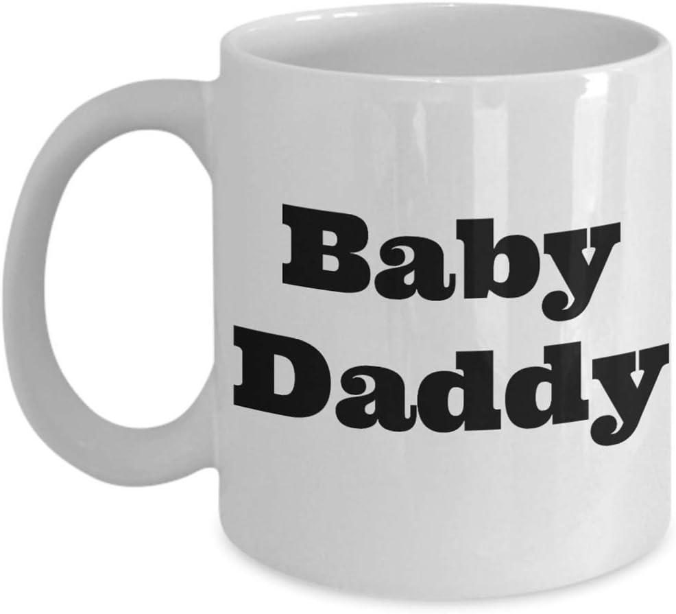 ZSHC js - Tazas Divertidas para Embarazadas - Tazas de té y café para Embarazadas - Ideas de Regalo para la Familia, la Primera Vez Que mamá y Amigos (11 oz)