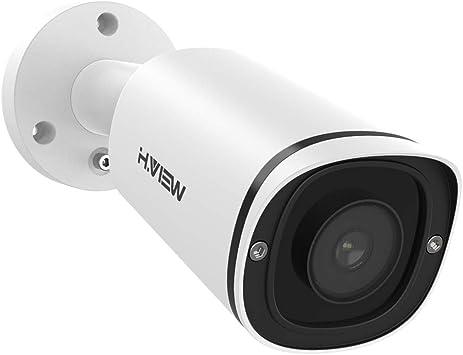 Opinión sobre Cámara de Seguridad H.VIEW IP Camera 3MP visión Nocturna en Color 4 mm Super HD PoE Cámara para Exteriores Audio H.265 Detección de Movimiento IR Inteligente Instalación fácil