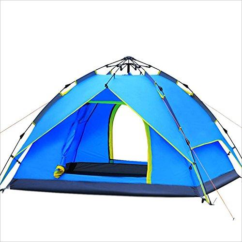 Maybesky Festzelt Winddichtes und regendichtes Zelt im Freien 100% Wasserdichtes Familien-Campingzelt