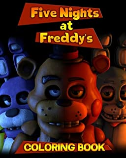 five nights at freddys coloring book for kids and adults activity book - Five Nights At Freddys Coloring Book