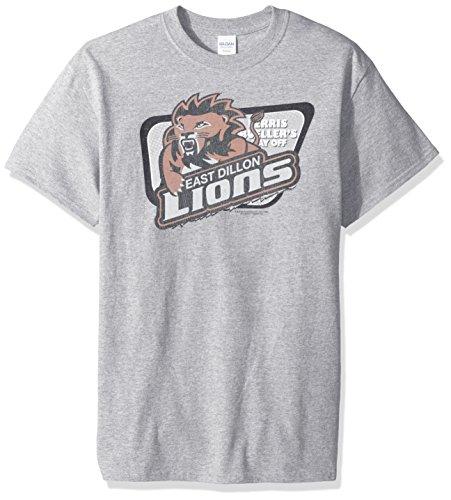Trevco Men's Friday Night Lights Short Sleeve T-Shirt, Lions Athletic Heather, XX-Large