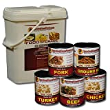 10 Day Survival Cave Food Combo with Freeze Dried Food and Canned Meat Variety