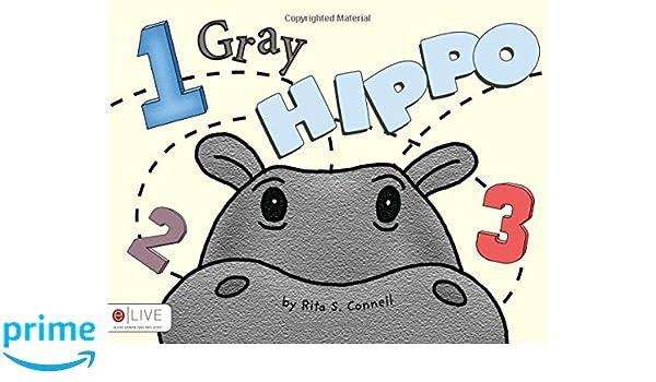 One Gray Hippo