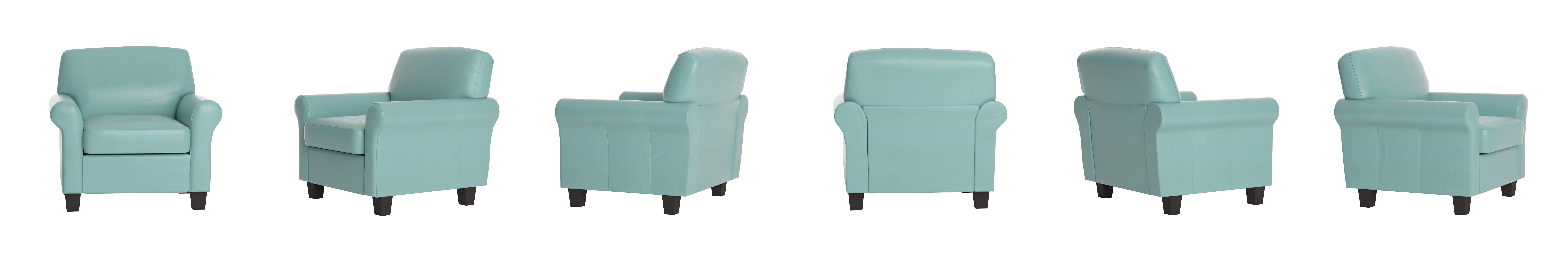 Amazon Best Selling Modern Club Chair Teal Blue Kitchen