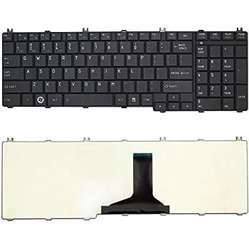 Amazon.com: New US Black English Laptop Keyboard Compatible Toshiba