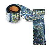 100-Foot by 2-Inch Holographic Bird Scare Ribbon, Double Side Laser Bird Scare Tape