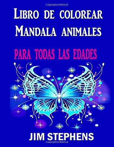 Mandalas de animales para colorear una actividad - Libros para relajarse ...