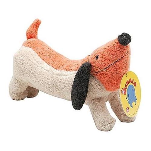 """Amazon.com: 10"""" Nick Jr's Oswald: Weenie Dog Plush Doll by Gund"""