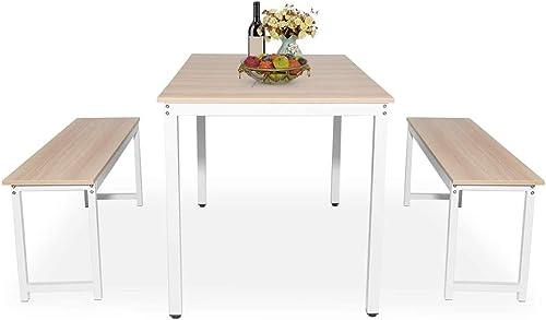 Recaceik Dining Table Set 3 Piece Kitchen