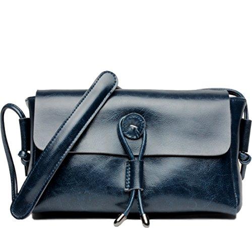 Women Fashion Shoulder Bag Crossbody Handbag(blue) - 5