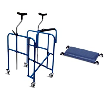 andador rollator axilas Plegable regulable en altura ...