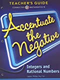 img - for Connected Mathematics 3, Teacher's Guide, Accentuate the Negative book / textbook / text book