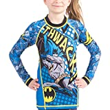 Batman Thwack Kids Rashguard- Long Sleeve (XS)