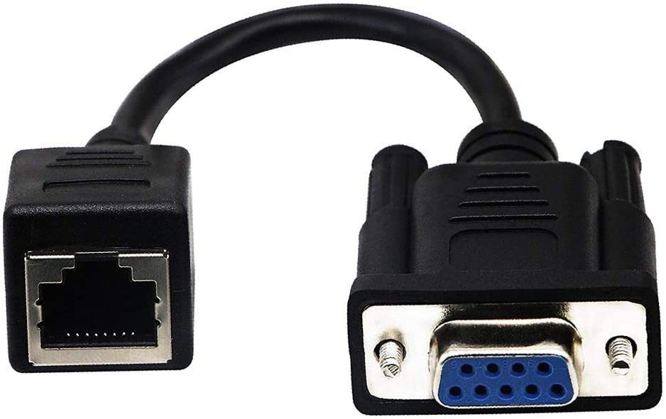 Computer Cables 18cm VGA Male//Female to RJ45 Female Extender Adapter Cord Wire DB9 to RJ45 Cable EM88 Cable Length Female