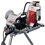 RIDGID 47222 918 Roll Groover, Compact Hydraulic Roll Groover with a Powerful 15-ton Hydraulic Ram, 2-Stage Pump and 300 Power Drive Compatibility