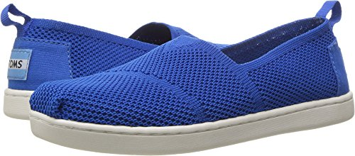 TOMS 10009925 MESH Alpargata-K, Blue, 3.5 M US Big Kid (Toms Mesh Shoes)