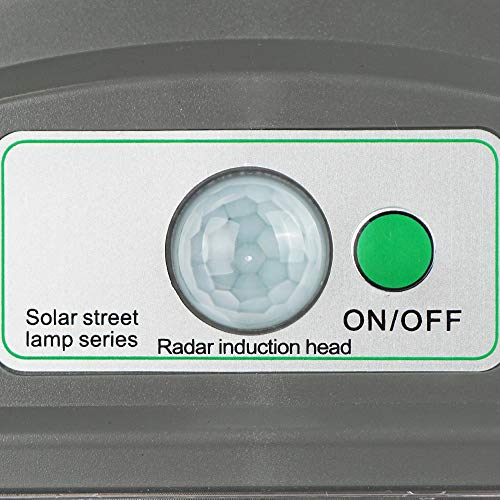 ECO LLC 60W LED Solar Powered Wall Street Light PIR Motion Outdoor Garden Lamp by ECO LLC (Image #6)