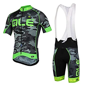 362f940a1 2016 Hot Sale Ale Cycling Clothing Kit Men s Cycling Team Edition Shirts  Green Jerseys Mountain Ciclismo Maillot Suit Big Size (Bib suit