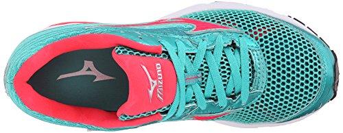 Mizuno Mujer Wave Sayonara 3Zapatilla de Running Malibu Blue-Pink