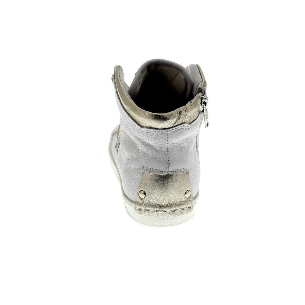 Maca Kitzbühel Damenschuhe - Turnschuhe 2210 - Weiß Silber Silber Silber Gold Schuhgröße EUR 40 863e45