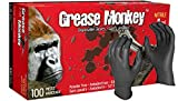 Watson Gloves Grease Monkey Disposable Nitrile Glove - 5 Mil Thickness, Powder-Free, Abrasion and Puncture Resistance, 100 Gloves/Box (Extra Large, 5554PF)