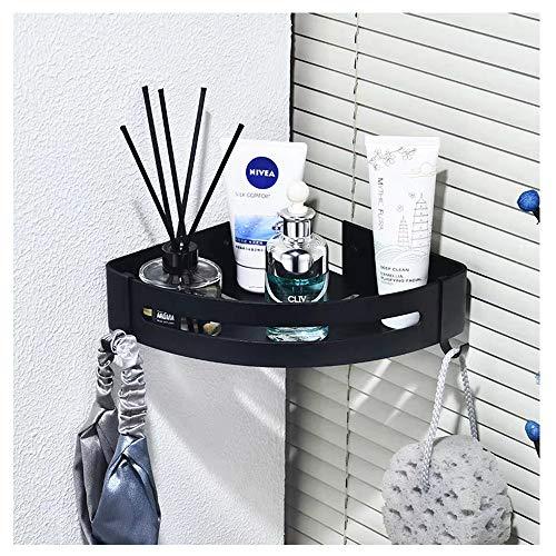 WonderTech Eckablage Wandmontage Duschablage Ecke Duschkorb für Bad und Küche, Aluminium