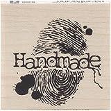 Inkadinkado 60-00803 木印章,手工指纹
