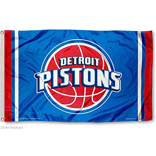NBA Detroit Pistons 3x5 Banner Flag