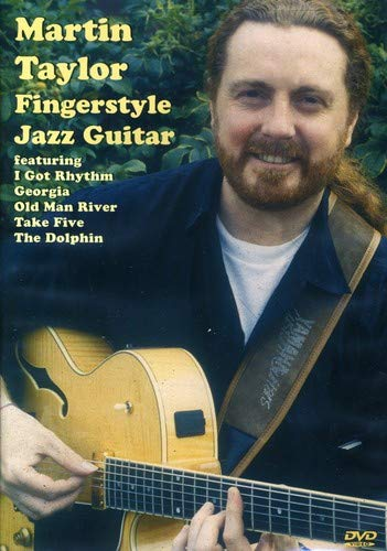 Fingerstyle Jazz Guitar on DVD Taught by Martin Taylor