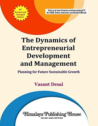 Small Scale Industries And Entrepreneurship Vasanth Desai Pdf