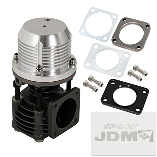 Universal JDM 12 PSI 50MM External Wastegate Chrome Turbocharge Performance Racing Upgrade (External Wastegate)