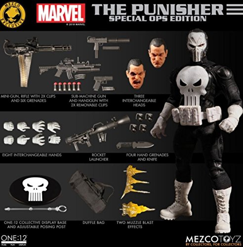 Mezco One:12 Punisher Special Ops Edition - SDCC 2018