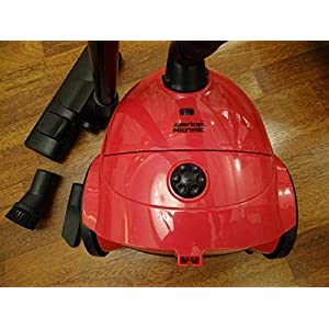 American Micronic -1000 Watt (1200W Max) Mid Size Imported Vacuum Cleaner- AMI-VC1-10DX-Red