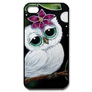 Owl New Fashion DIY Phone Case for Iphone 4,4S,customized cover case ygtg527535
