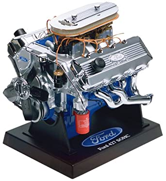 Amazon.com: Revell Metal Body Ford 427 SOHC Engine: Toys & Games