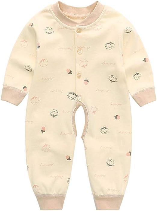 HJJGRASS Pijama Bebe, Bebés Siameses Ropa de Algodón 100%, del ...