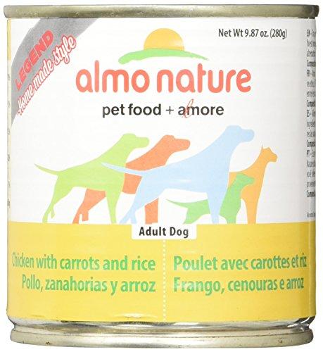 - Almo 9.87 Oz Legend Chicken & Rice Canned Dog Food (12 Case), Medium