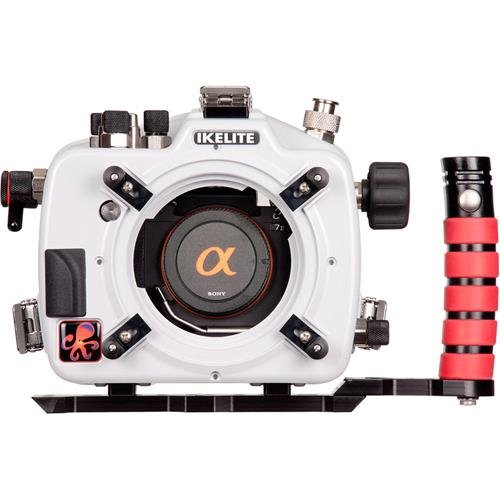 Ikelite Underwater Housing with TTL Circuitry for Sony Alpha a7 (Nikonos Strobe Sync Cord)