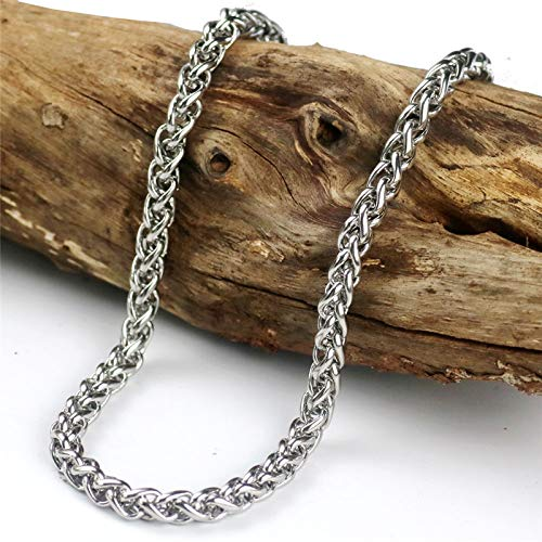 (Stainless Steel Curb Link Chain Gold Bracelet | Biker Hip Hop Jewelry)