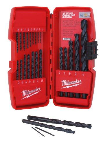 Milwaukee GIDDS2-811325 21 Piece Thunderbolt Black Oxide Drill Bit Set