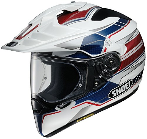 (Shoei Hornet X2 Navigate Sports Bike Racing Motorcycle Helmet - TC-2 / Large)