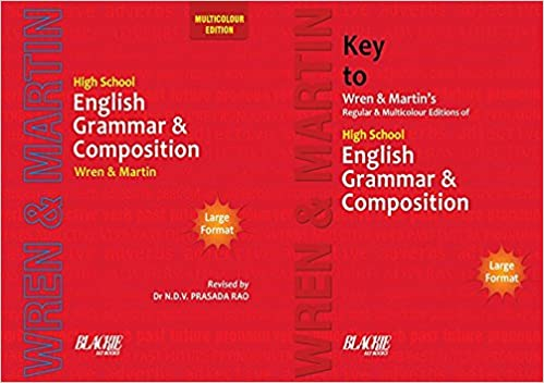 Wren And Martin English Grammar And Composition Book