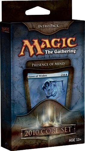 Magic the Gathering- MTG: Magic 2010 Core Set - Theme Deck - Intro Pack Blue : Presence of Mind (Core Set Theme Deck)
