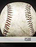 2019-2020 Planner Weekly and Monthly 8.5 x 11: Baseball Theme Calendar Schedule Organizer and Journal Notebook (January 2019 - December 2020) (Academic Year)