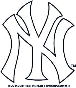Rico MLB New York Medium Die Cut Decal