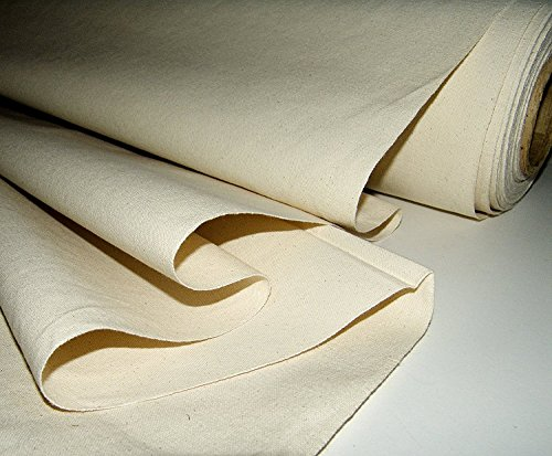 10 Ounce Duck Canvas (LA Linen Cotton Duck Canvas Cloth, 10oz. Natural Color, 60